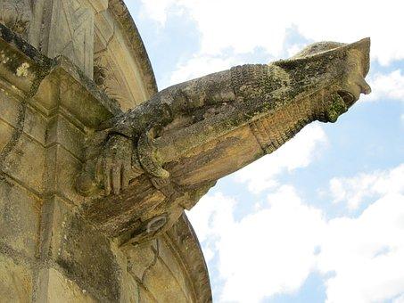 St Gatien Cathedral, Gargoyle, Cloister, Renaissance