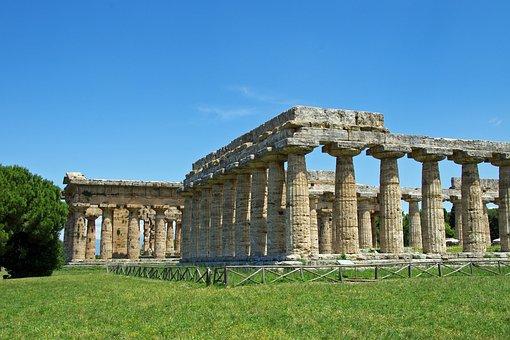Paestum, Salerno, Italy, Temple Was