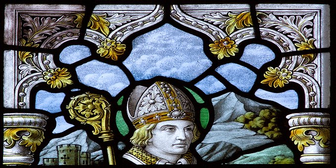 Stained, Glass, Classical, Classic, Medieval