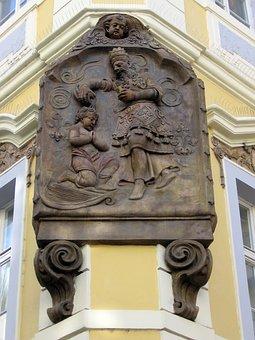 Baptism, Relief, Stone Relief, Religion, Historically