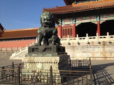 Beijing, China, Temple, Forbidden City