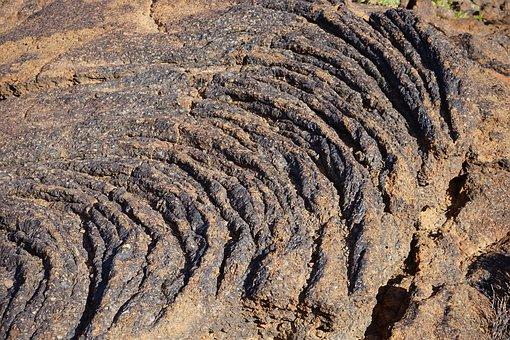 Lava, Lava Flow, Basalt, Petrified, Cold, Tenerife