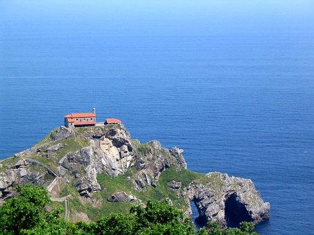 Gaztelugatxe, Bizkaia, Bakio, Island, Spain, Vizcaya