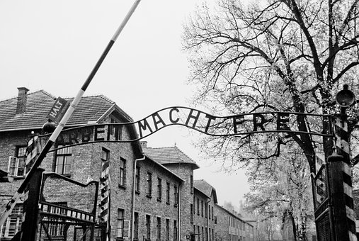Auschwitz, Gate, Holocaust, Poland, Concentration, Camp