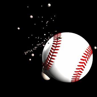 Baseball, Ball, Impact, Play, Fun, Sport, Fly, Action