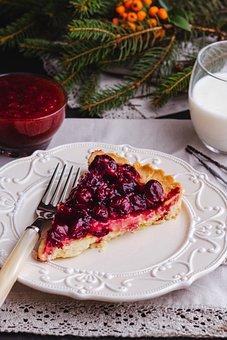Cherry, Fruit, Jam, Dessert, Food, Sweets, Cheesecakes
