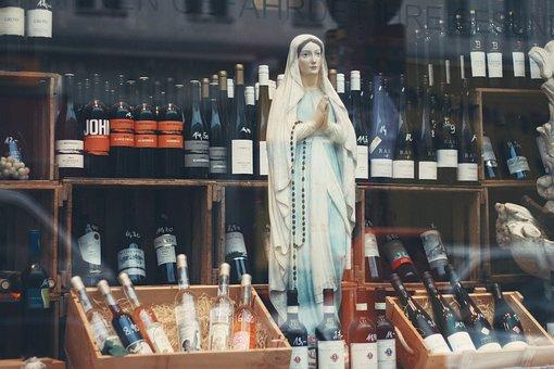 Alcoholic, Drink, Beverage, Bottle, Wine, Store