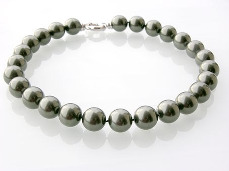Tahiti Pearl Necklace, Flawless, Beads, Jewellery