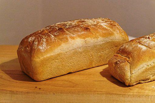 Bread, Even Baked, White Bread, Baked, Homemade, Food