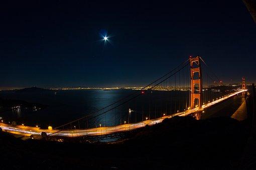 Golden Gate, Bridge, Infrastructure, City, Urban