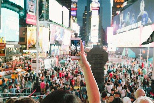 People, Crowd, Audience, Venue, Concert, City, Urban