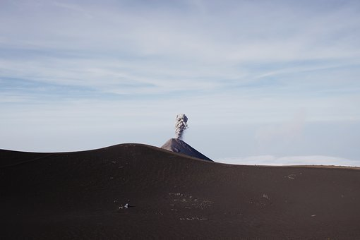 Volcano, Explosion, Nature, Eruption, Cloud, Sky
