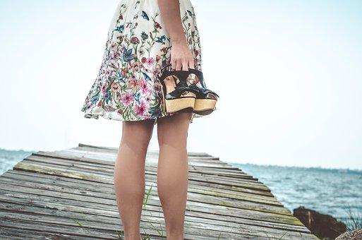 People, Girl, Woman, Sandals, Heels, Footwear, Travel