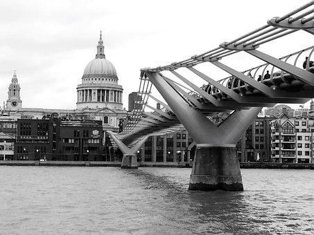 London, Thames, City, England, Uk, Landmark, River