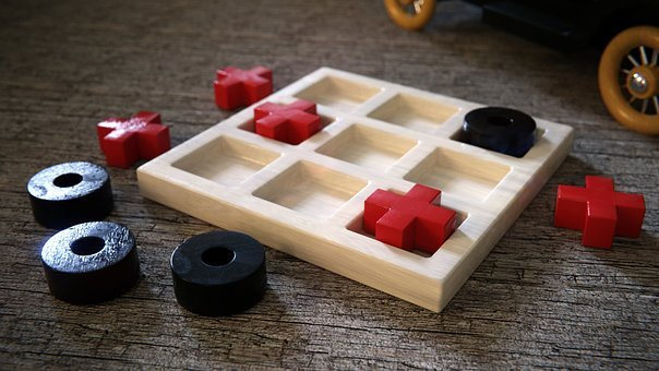 Toys, Play, Wood, Wooden Toys, Tic Tac Toe, Funny