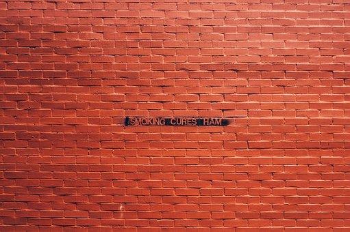 Bricks, Orange, Wall, Brickwork, Red Wall