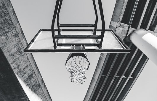 Architecture, Sky, Basketball, Ring, Sport, Adventure