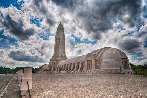 Douaumont, Verdun, 1914, 1918, France, Bunker