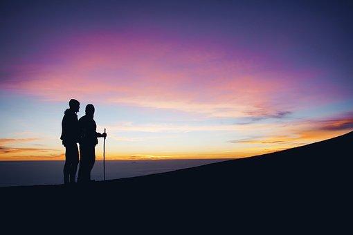Mountain, Highland, Cloud, Sky, Summit, Ridge