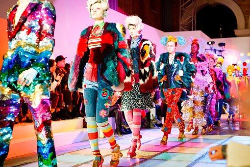Fashion, Models, Women, Girls, Colorful, Attire
