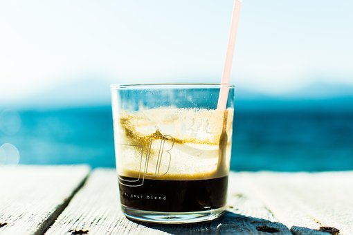 Ice, Cold, Coffee, Drink, Beverage, Chill, Glass