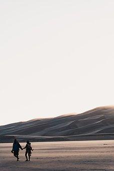 Desert, Field, Sky, Outdoor, View, Landscape, Highland