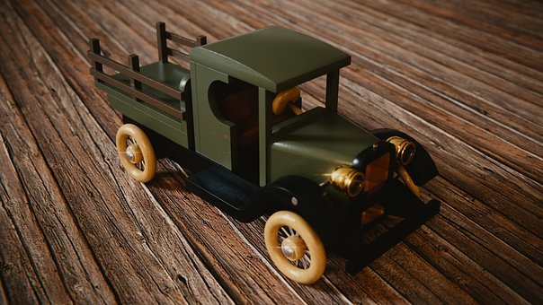 Truck, Toys, Wood, Auto, Colorful, Woods, Leisure, Play