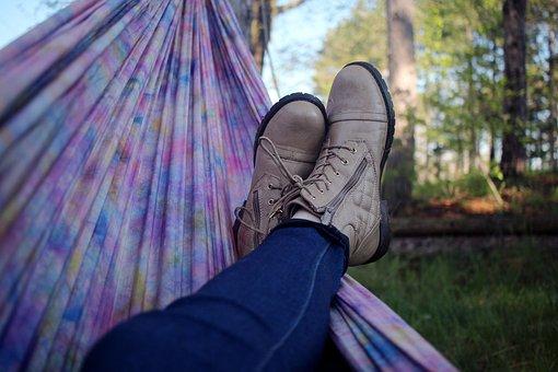 Hammock, People, Man, Shoe, Footwear, Jeans, Outdoor