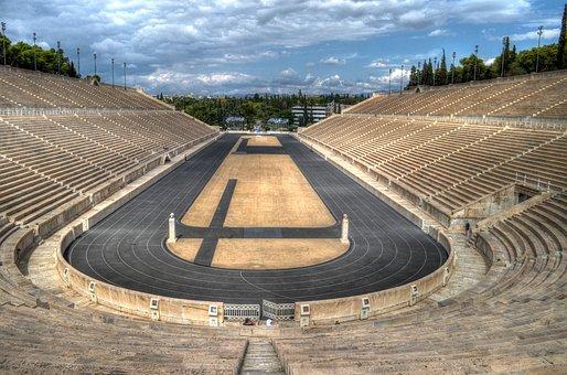 Forum, Athens, Greece, Olympic, Stadium, Holiday