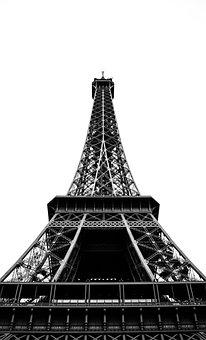 Architecture, Building, Infrastructure, Eiffel Tower