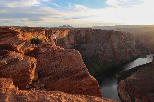 Rock, Formation, Hill, Highland, Cliff, Landscape, Sky