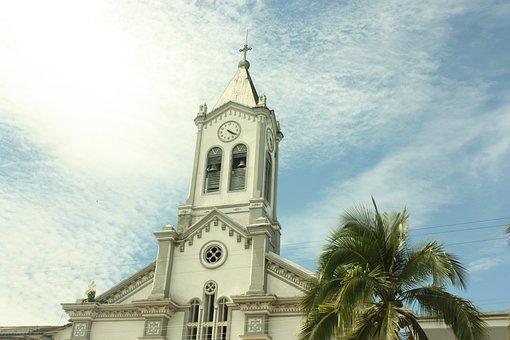 Church Of Mocoa, Putumayo, Colombia