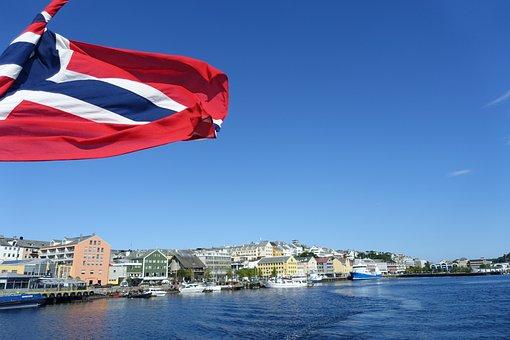 Coast, Boat, Ferry, Kristiansund, Norway, Scandinavia