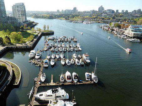 Port, Vancouver, Boats, Water, Boating, Kadesh