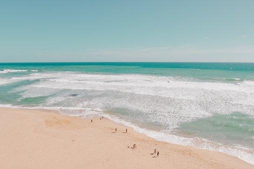Sea, Ocean, Water, Waves, Nature, White, Sand, Beach
