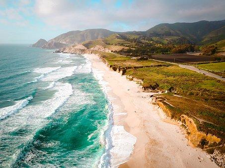 Sea, Ocean, Water, Waves, Nature, Blue, Sky, Cloud