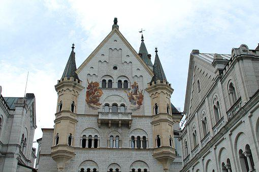 Neuschwanstein Castle, Building, Castle, Kristin