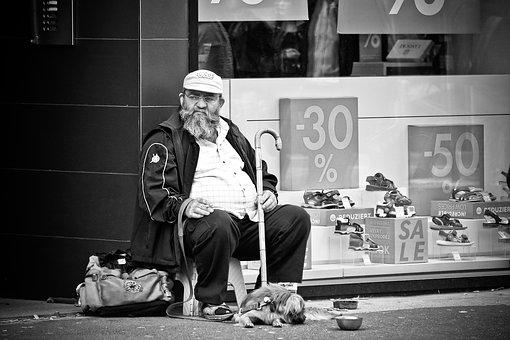 Human, Road, Man, Male, Person, Homeless, Penner