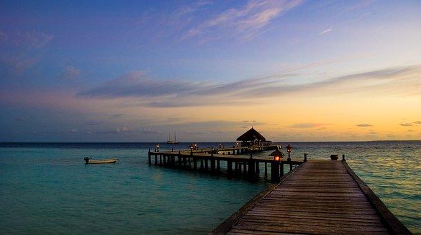 Jetty, Pier, Water, Summer, Sea, Travel, Sky, Ocean