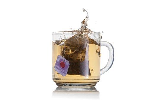 Splash, Tee, Drink, Cup, Tea, Teacup, Hot Drink, Glass