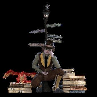 Steampunk, Alice In Wonderland, Watchmaker, Directory