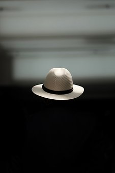 People, Dark, Room, Hat, Black Room, Gray Room