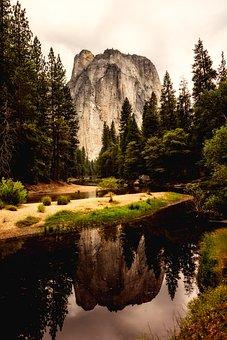 Yosemite National Park, California, Landscape, Sky