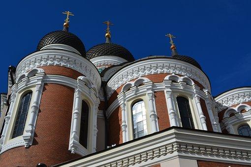 Tallinn, Church, Estonia, Architecture, Tourism