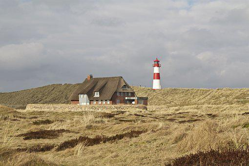 Sylt, Elbow, North Sea, Dune, Nature Reserve
