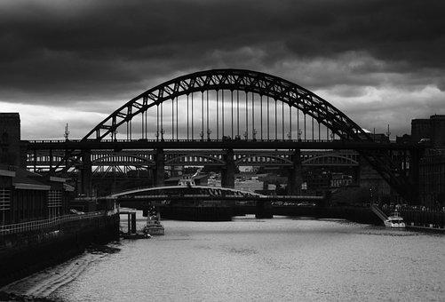Newcastle, Northumberland, England, North, Tyne, Sky