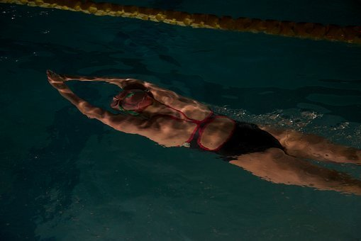 People, Woman, Swimming, Pool, Water, Athlete, Fitness