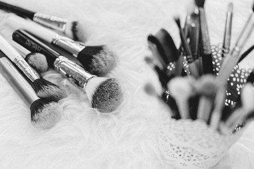 Makeup, Brush, Things, Kit, Beauty, Cosmetics, Blur