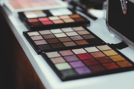 Makeup, Kit, Colorful