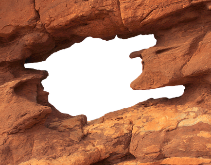 Mountain, Rock, Nature, Cliff, Solid, Hole, Landscape